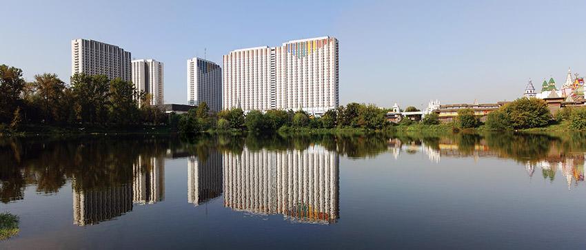 Гостиничный комплекс Измайлово Альфа в Москве