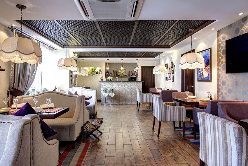 Кафе Хинкальная в гостинице Альфа Измайлово в Москве