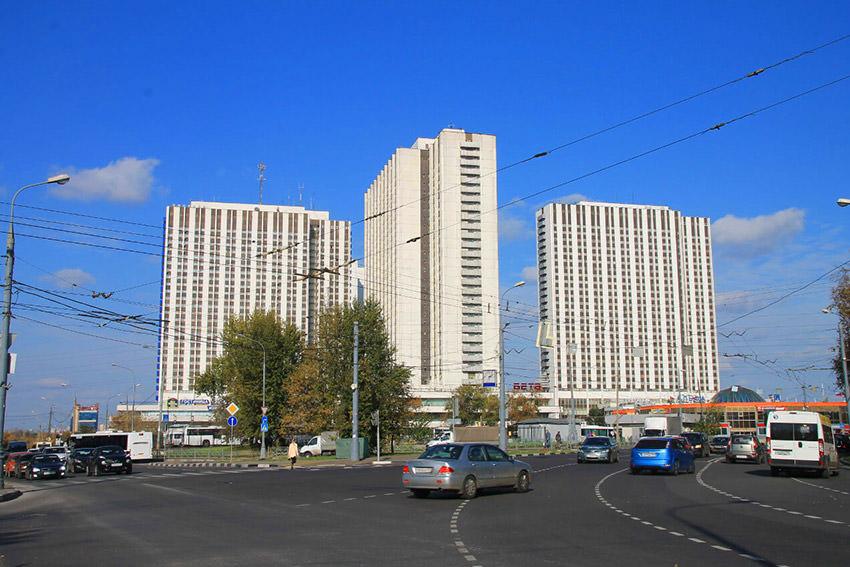 Как доехать до гостиницы Измайлово Бета в Москве