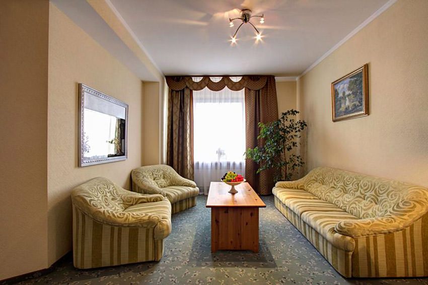 Номер Люкс в гостинице Измайлово Альфа - Москва