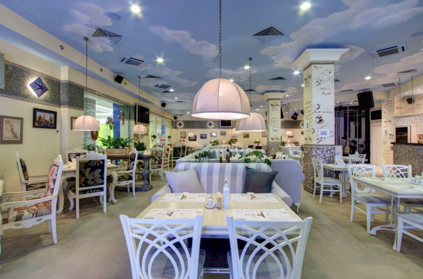 Ресторан Il Canto в отеле Альфа в Москве, Измайлово